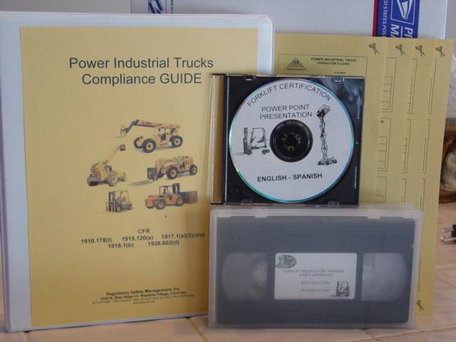 Regulatory Safety Management Inc Forklift Certification Train